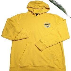 Vans Off The Wall Mustard Yellow Hoodie M
